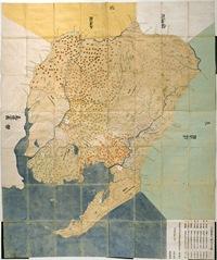 三河国絵図